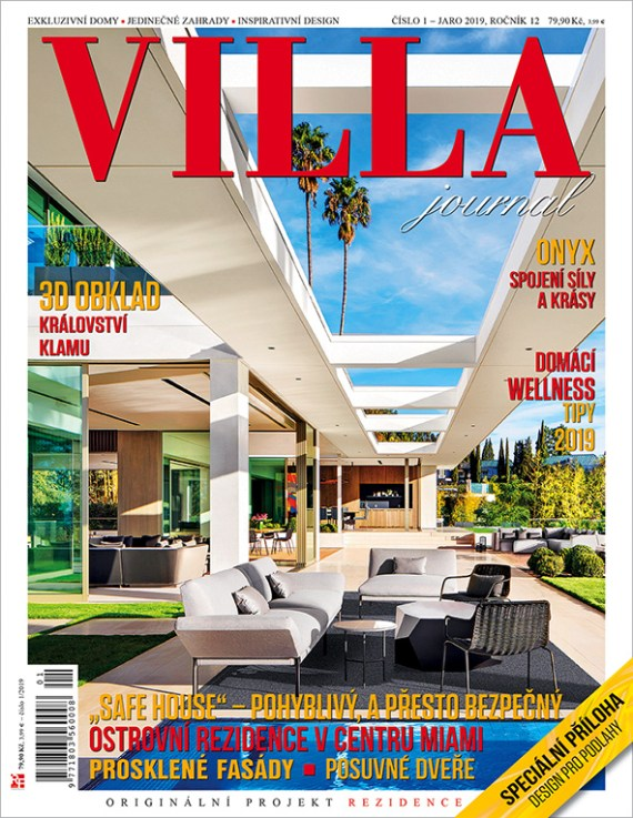 Aktuální číslo časopisu Villa Journal