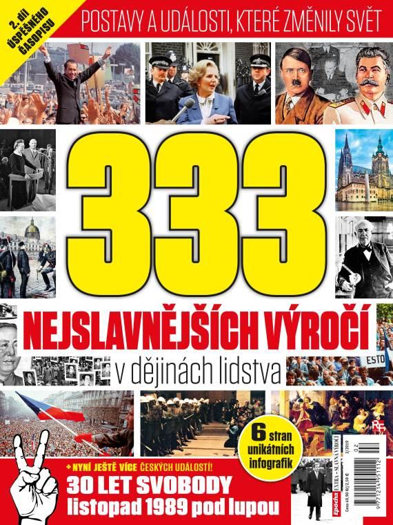 Aktuální číslo časopisu Edice Epocha – slavná výročí