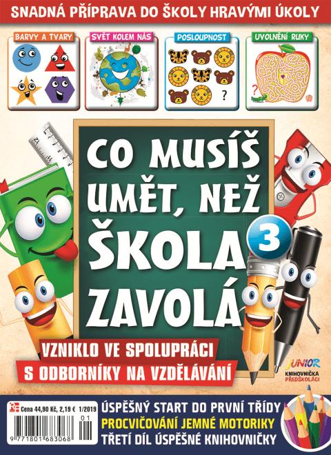 Aktuální číslo časopisu Edice knihovničky – Junior