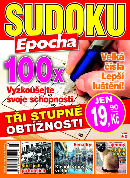 Aktuální číslo časopisu Edice křížovky