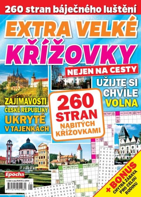Aktuální číslo časopisu Extra velké křížovky na cesty