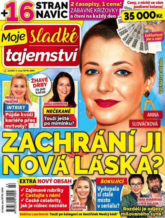 Aktuální číslo časopisu Moje sladké tajemství
