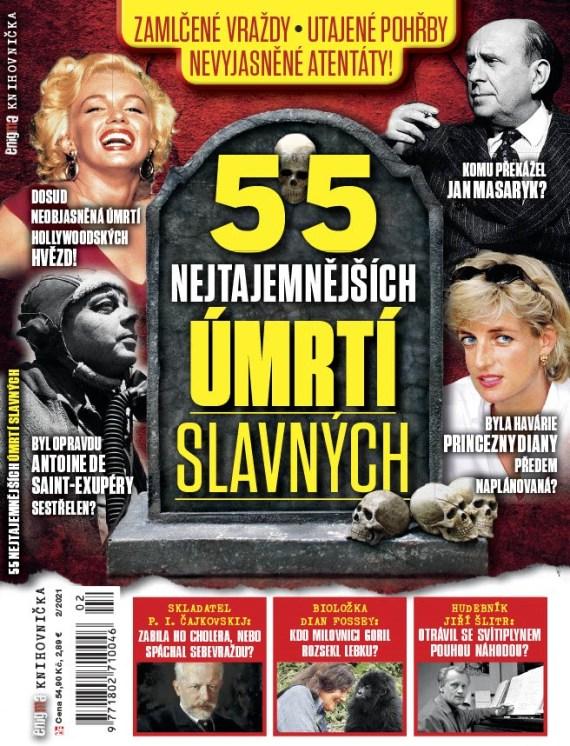 Aktuální číslo časopisu Knihovnička Enigmy