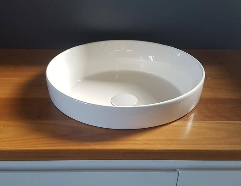 Halo 360 Semi Inset Or Above Counter Basin Rf Bathroom