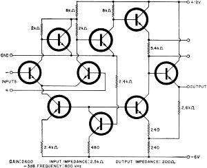 The Operational Amplifier, August 1967 Electronics World