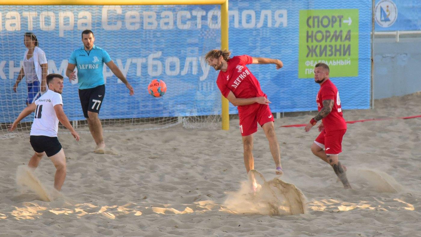 Кубок губернатора Севастополя по пляжному футболу - 2020. Итоги третьего тура