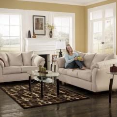 Ashley Darcy Sleeper Sofa Review Hartman Bentley Set Stone Full From Furnitureetc