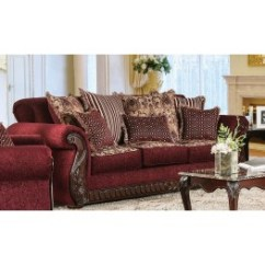 Ashley Furniture Darcy Sofa Sleeper Fabric And Leather Combination Furnitureetc | & More Sofas ...