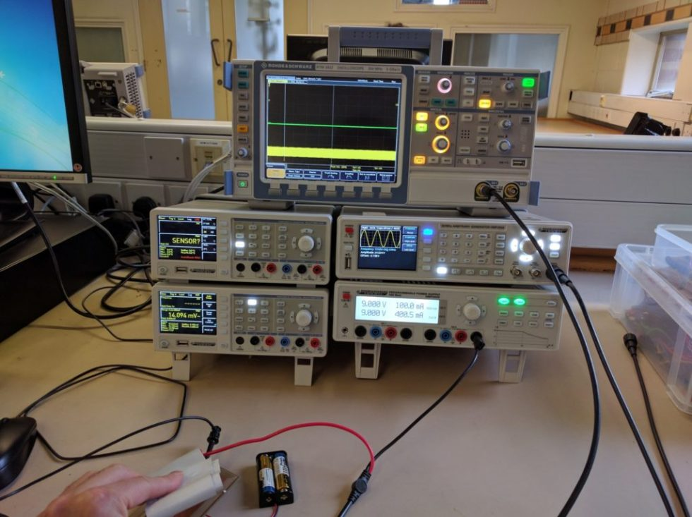 RFID Blocking Lab testing