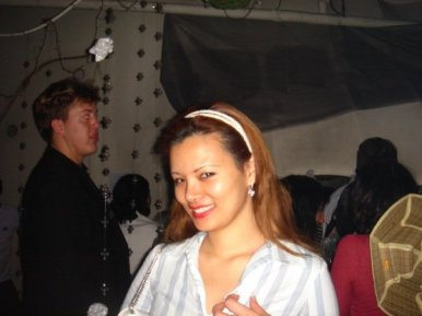 Angie in Korea.. always smiling for the camera