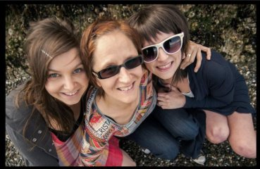 Seattle WA and my daughters - haute pink photography