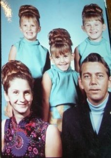 1972 or 1973 Family foto