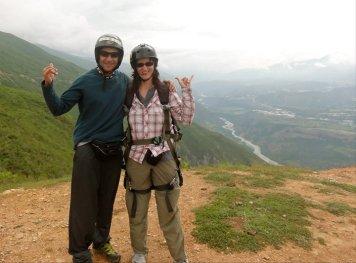 Paragliding with Guamanchi in Merida, Venezuela