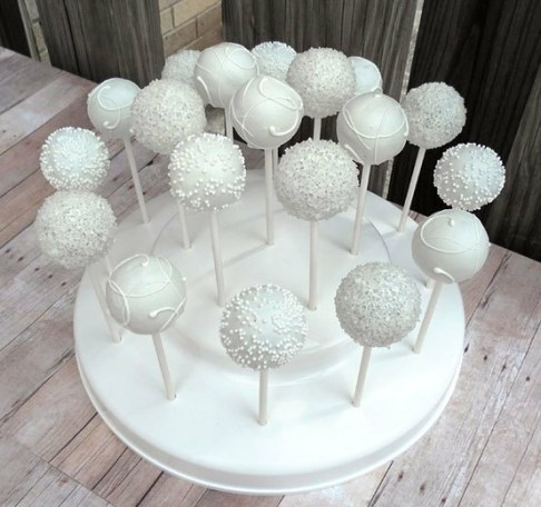 Cake pop wedding favors  rfmh411