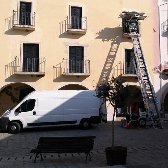 Mudanzas de altura en Barcelona