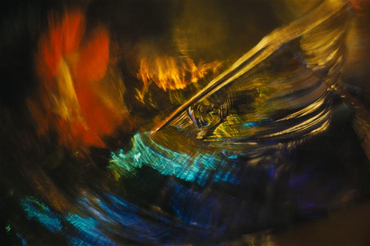 Color Light Abstraction 1054 (1963) Wynn Bullock