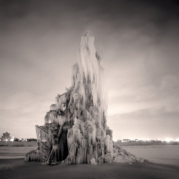 Ice Fountain © Bill Schwab
