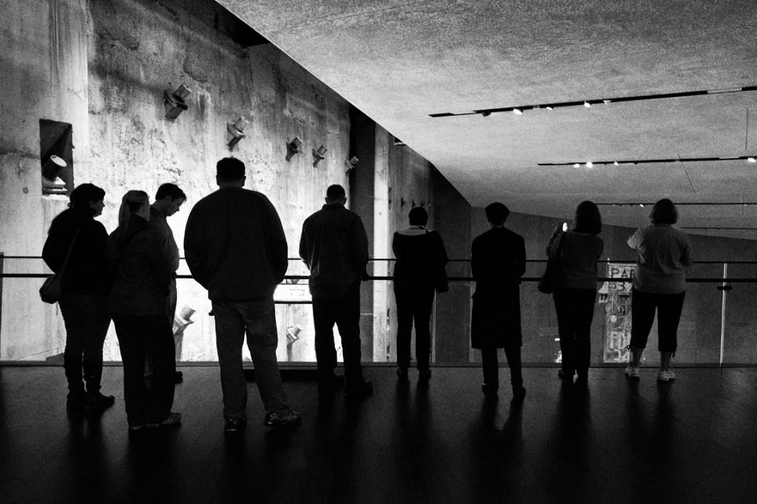 9/11 Museum Slurry Wall © Jay Fine