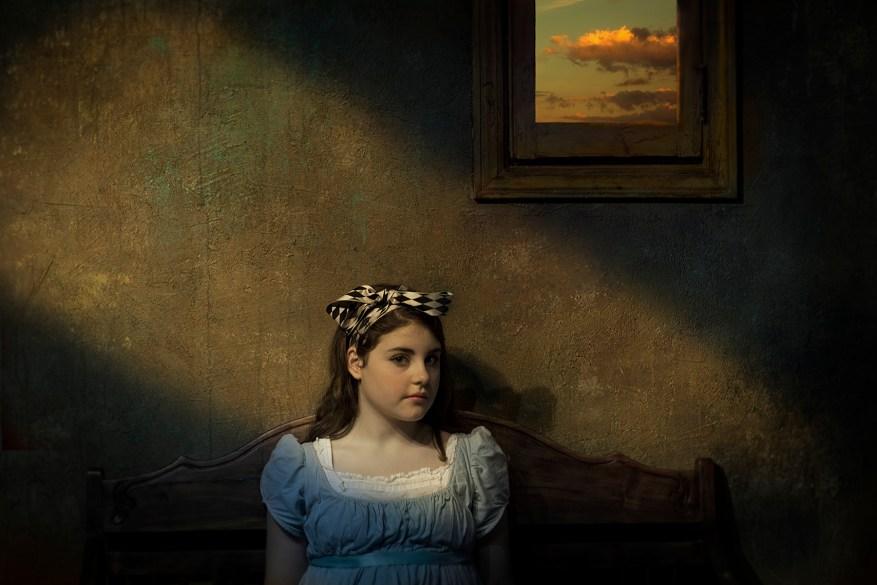 Girl Under Window © Jack Spencer