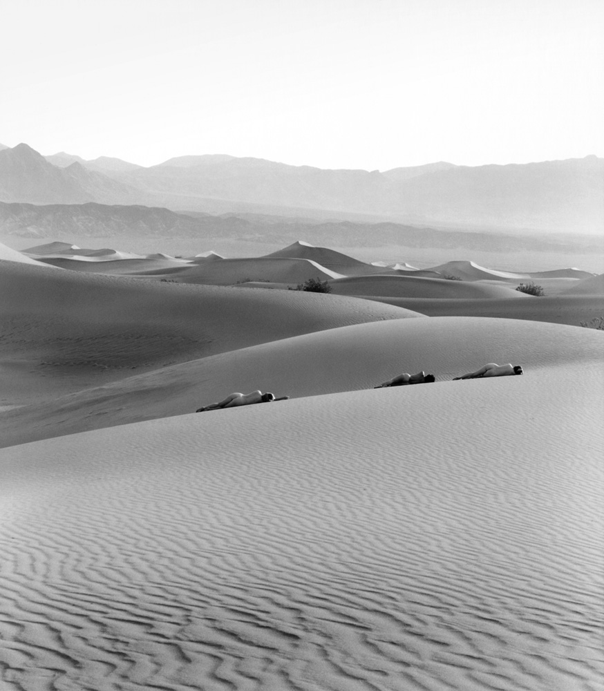 Three Nudes on Dunes, 1990,Edna Bullock © Bullock Family Photography, LLC