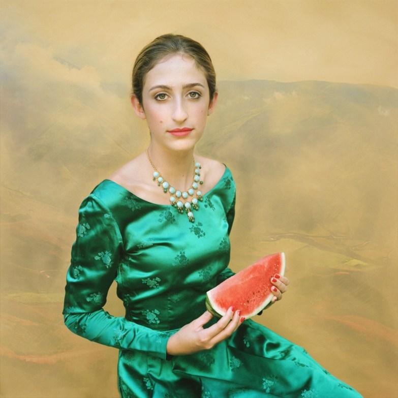 Bea with Watermelon © Aline Smithson