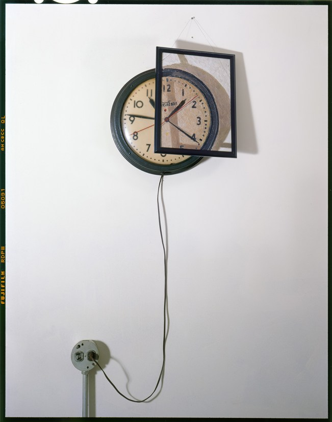 Clock, Outlet and Painting © John Chervinsky