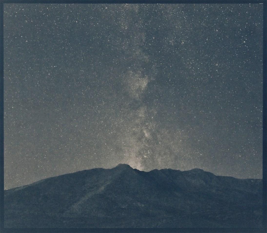 Mount Evans,cyanotype © Denis Roussel