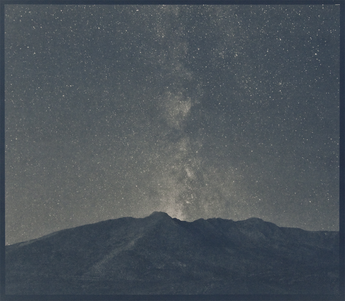 Mount Evans,cyanotype © Denis Roussel
