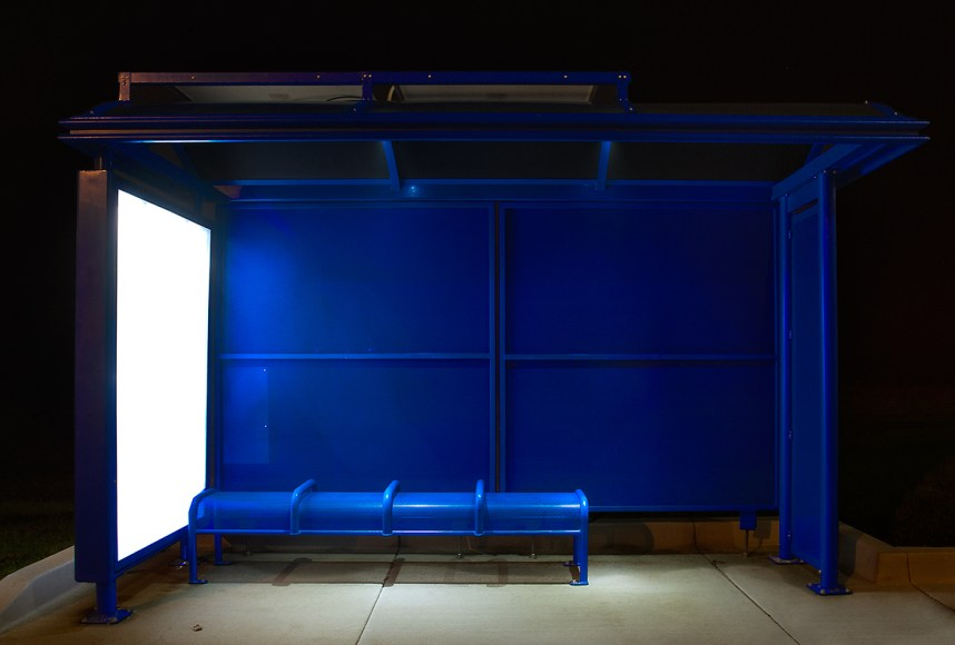 Blue Bench © Caroline Thompson