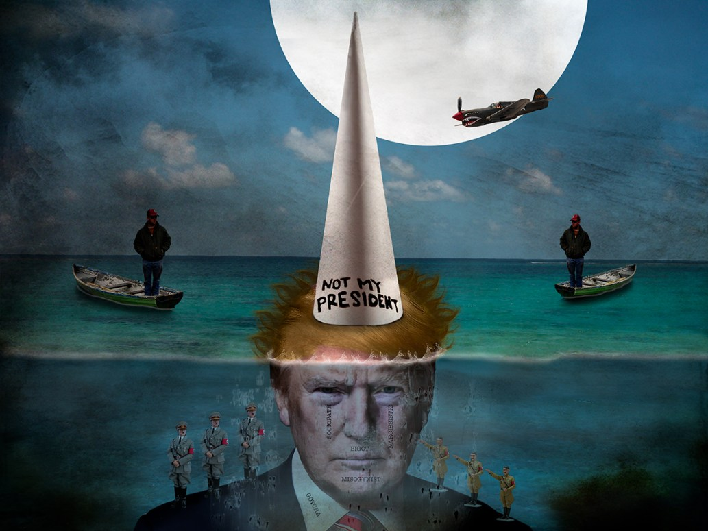 Not My President 2 © Leslie Hall Brown