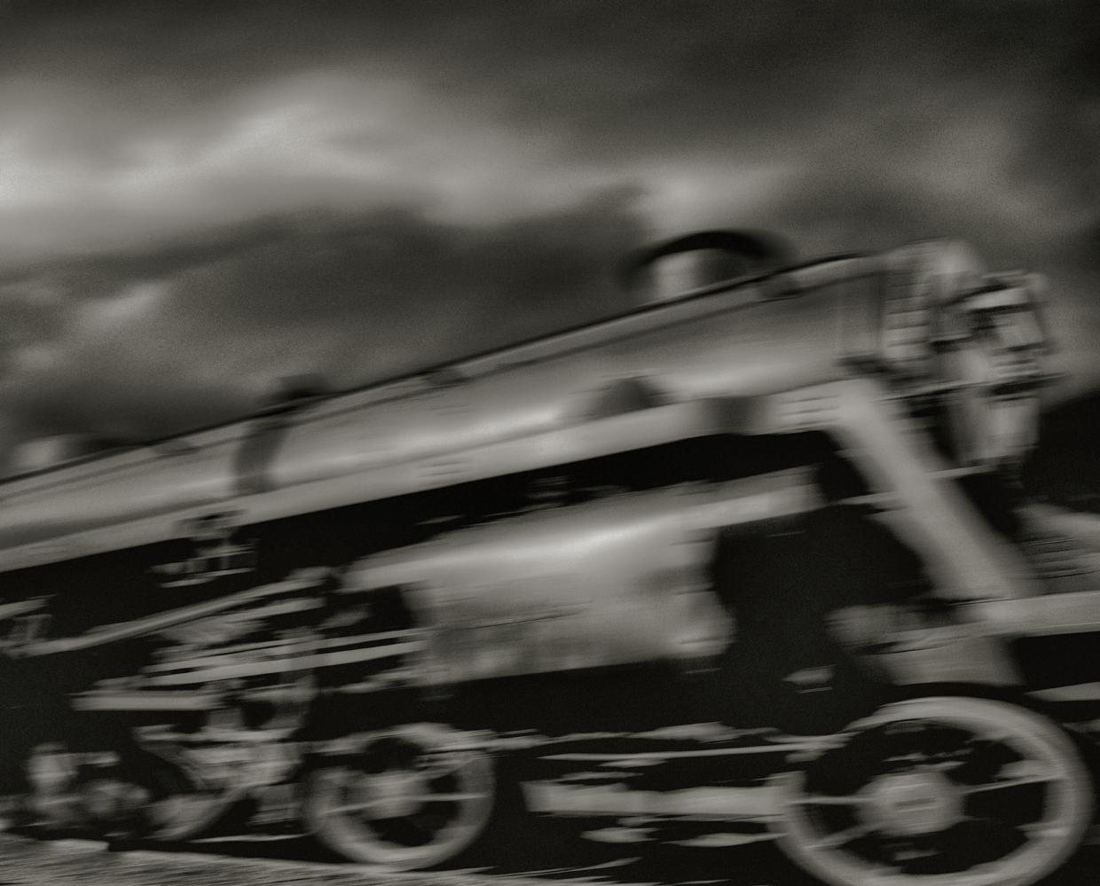 The Wild Train © John Claridge