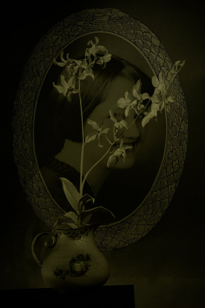 Still Life with Orchids and Portrait © Eduardo Fujii