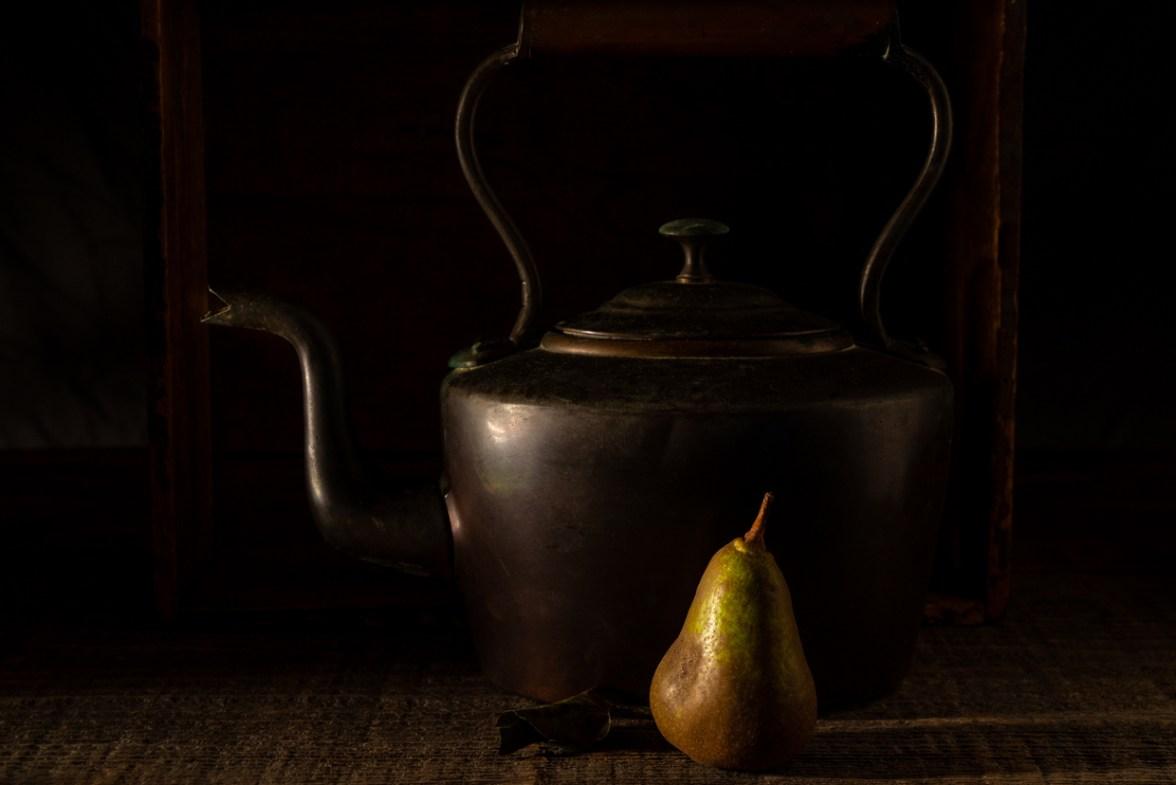 Kettle and Pear© Barbara Moon Batista