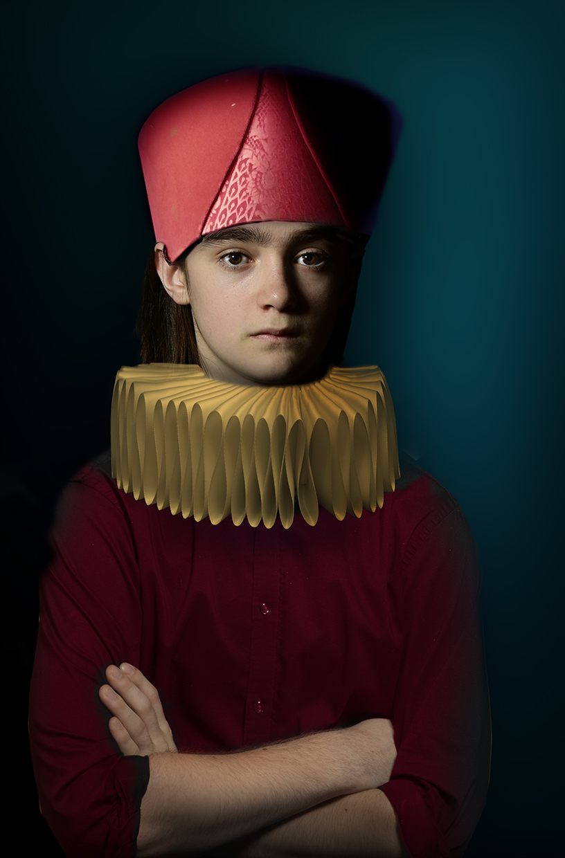 Boy with Red Hat © Fran Forman