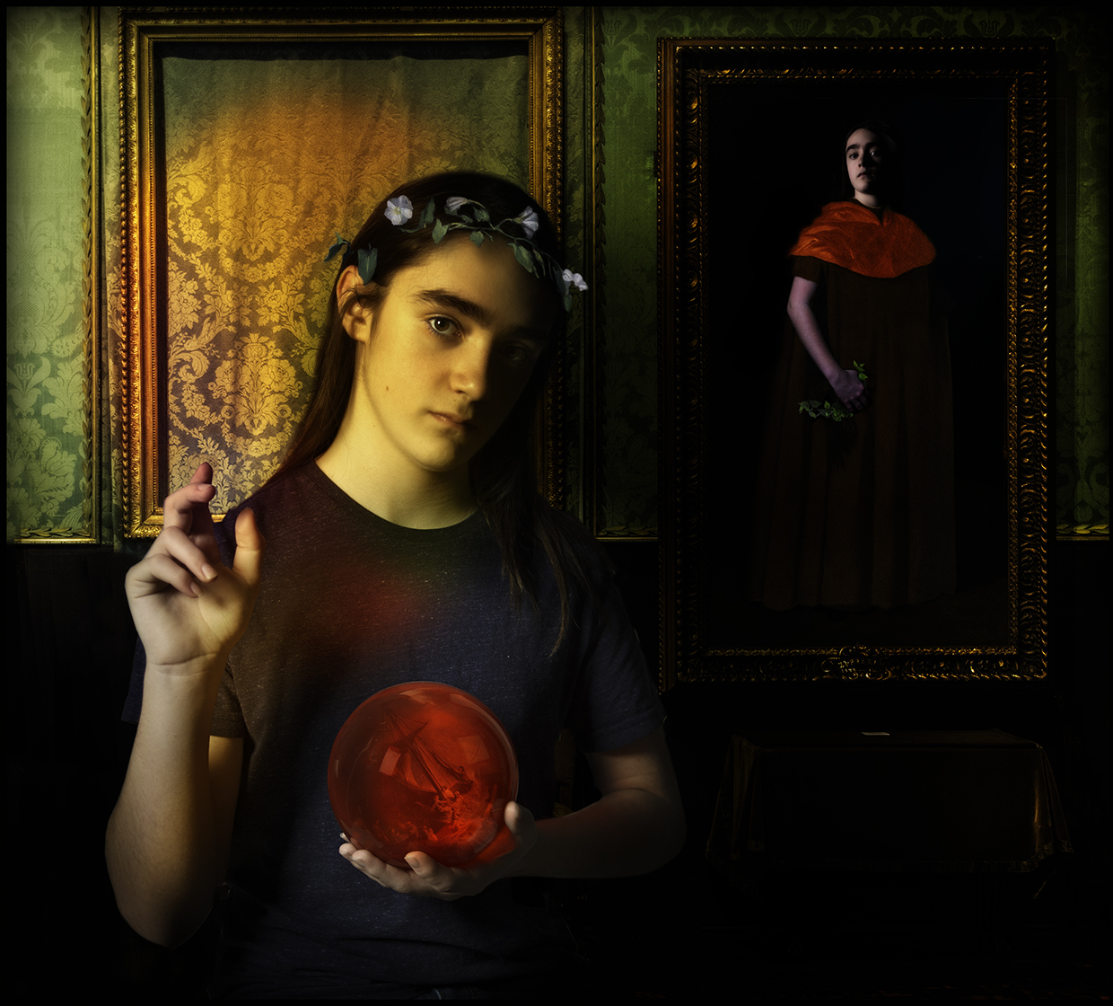 Lucas and Ms Gardner's Missing Painting © Fran Forman