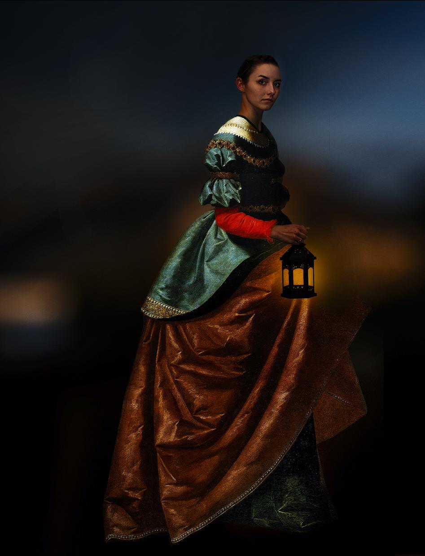 Santa Isabel with Lantern © Fran Forman