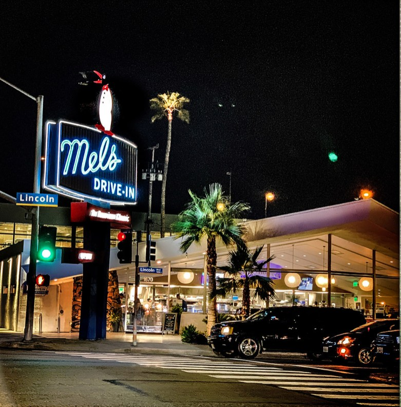 Mels Drive in LA, 2019 © Sally Davies