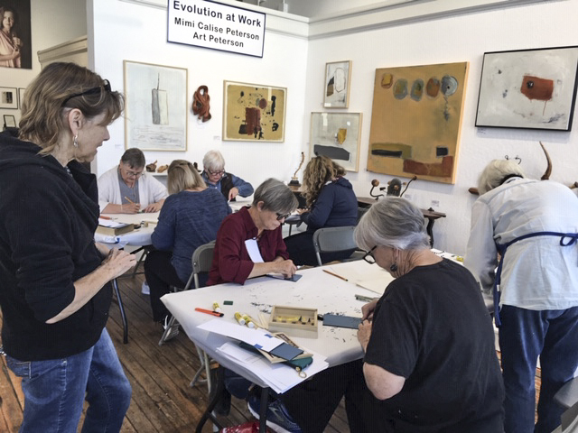 Printmaking Workshop © Karen Hymer