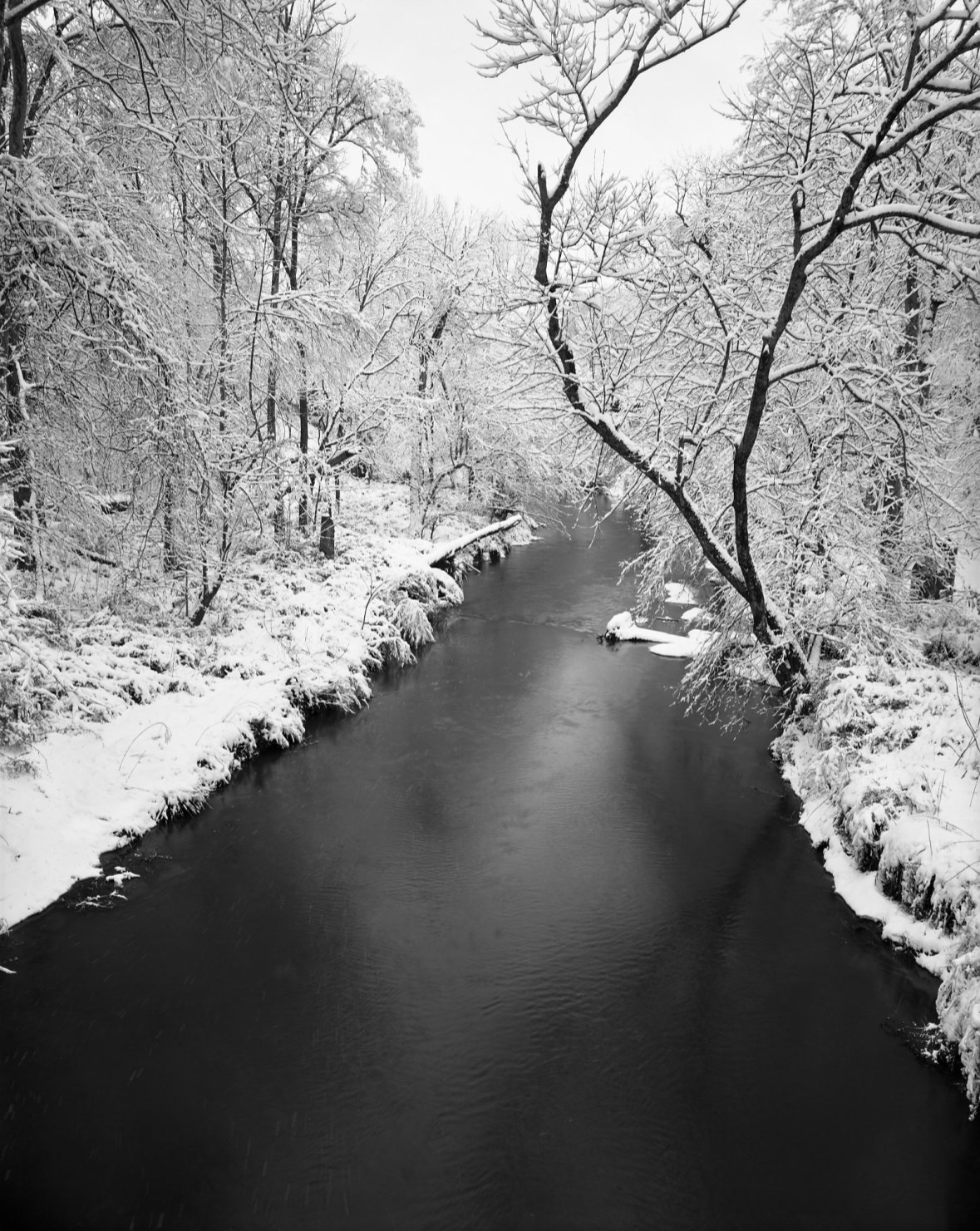 River Walk Snow © Holden Richards