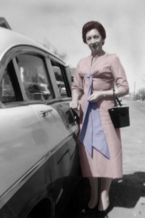 My Maternal Grandmother, Genevieve Marie Lejeune