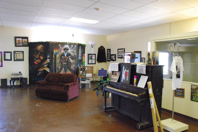 Inside the Robert Johnson Museum