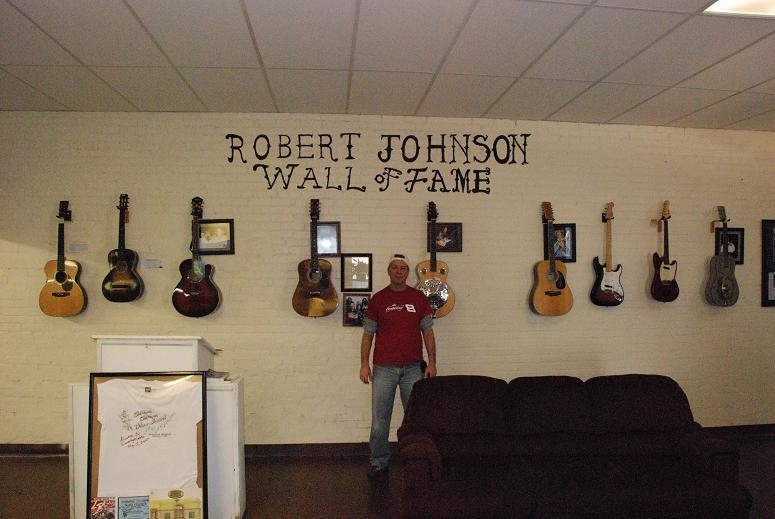 Me Inside the Robert Johnson Museum