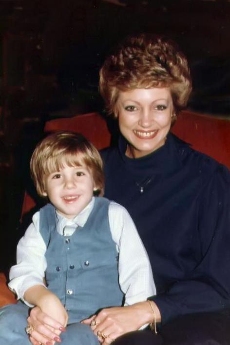 Mom & Joey circa 1983