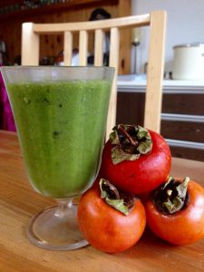 柿のスムージーレシピ