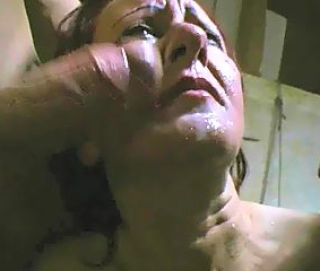 Forced Facial Cumshot With Two Barrels