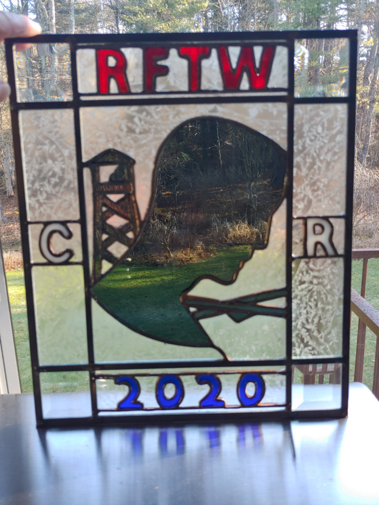Central Route Stained Glass