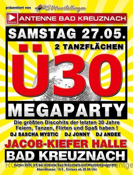 Ü30 Megaparty, Bad Kreuznach