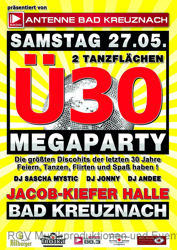 Ü30 Megaparty, Bad Kreuznach