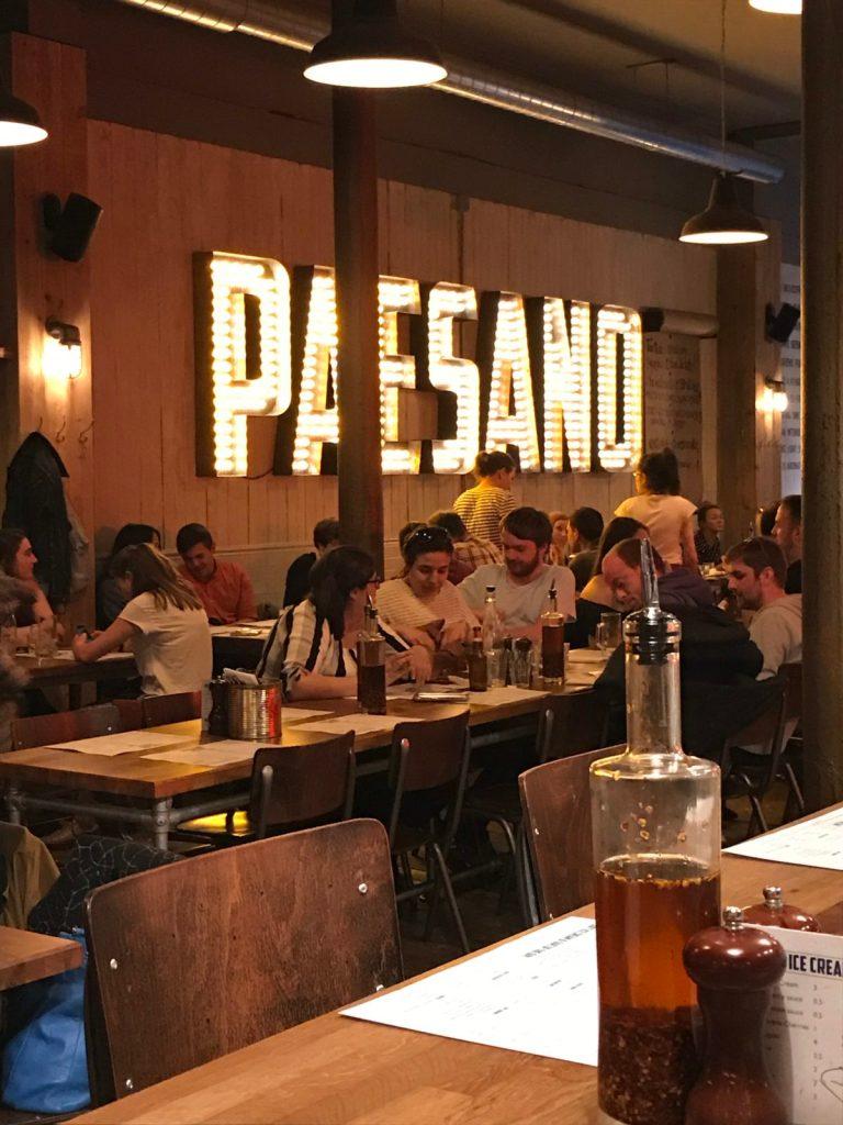 Restaurant Paesano, Glasgow