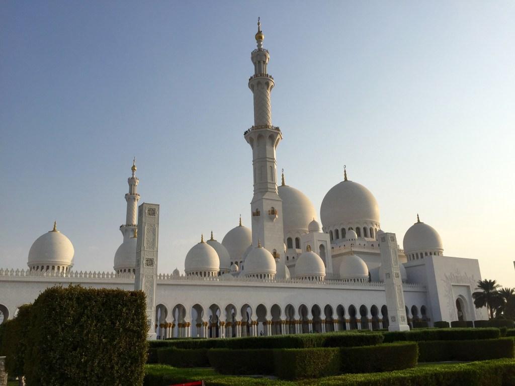 Abou Dhabi. Mosquée Cheikh Zayed